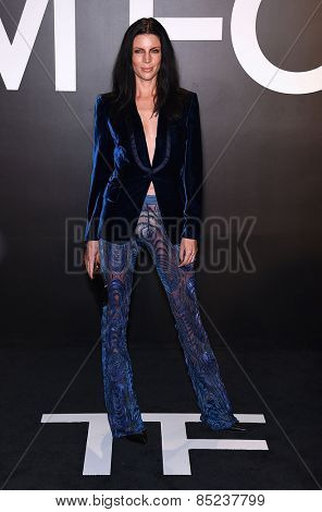LOS ANGELES - FEB 20:  Liberty Ross arrives to the Tom Ford Autumn/Winter 2015 Womenswear Collection Presentation  on February 20, 2015 in Hollywood, CA