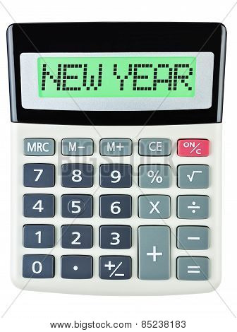Calculator With New Year