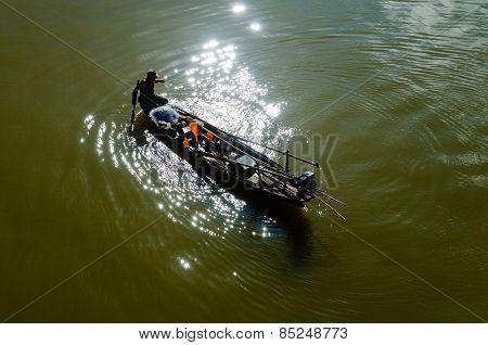 Shiing fishing net