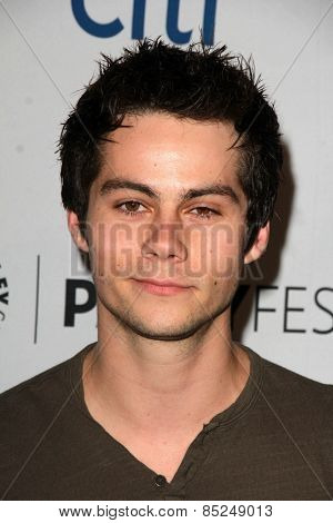 LOS ANGELES - MAR 11:  Dylan O'Brien at the PaleyFEST LA 2015 -