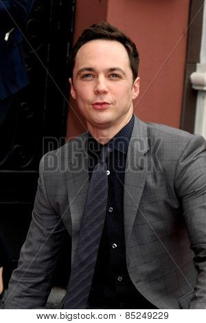 LOS ANGELES - MAR 11:  Jim Parsons at the Jim Parsons Hollywood Walk of Fame Ceremony at the Hollywood Boulevard on March 11, 2015 in Los Angeles, CA