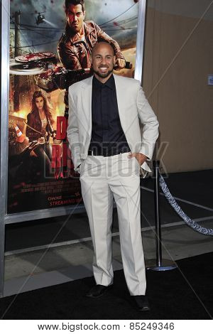 LOS ANGELES - MAR 11:  Hank Baskett at the