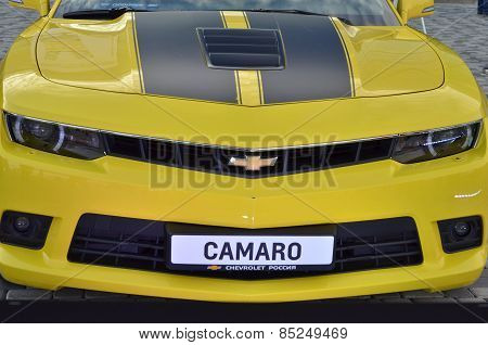 Chevrolet Camaro car closeup