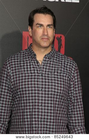 LOS ANGELES - MAR 11:  Rob Riggle at the