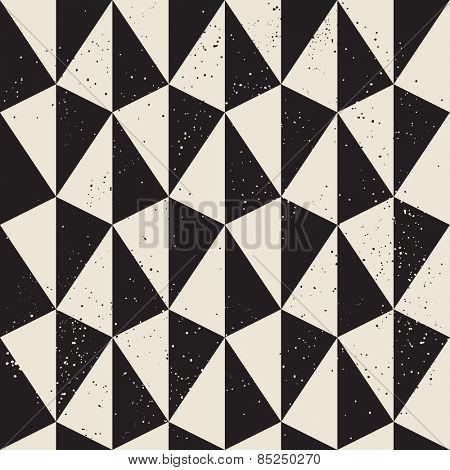 Pyramid geometric seamless pattern