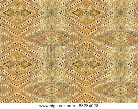 Seamless decorative mosaic