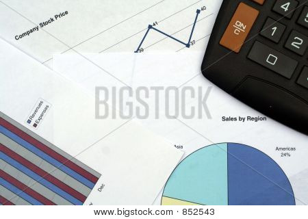 Financial Graphs & Calculator