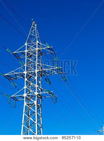 Electricity Energy Pylon