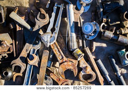 Assorted Junk And Tools