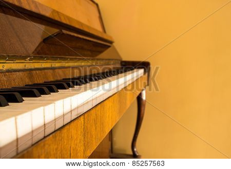 Piano And Copyspace