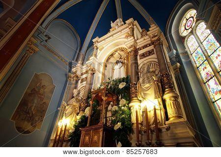 MARIJA BISTRICA, CROATIA - JULY 14: Basilica Assumption of the Virgin Mary in Marija Bistrica, Croatia, on July 14, 2014
