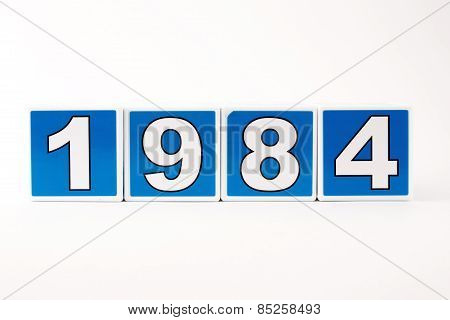 1984 Child's Building Block