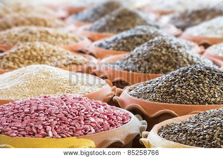 Heap Of Seed