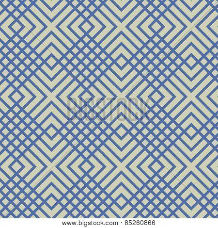 A checkered, modern vector pattern.