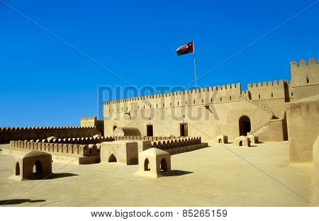 Fort Nakhl, Sultanate Of Oman