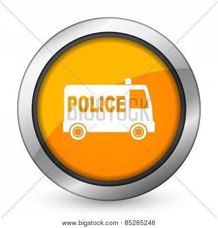 police orange icon