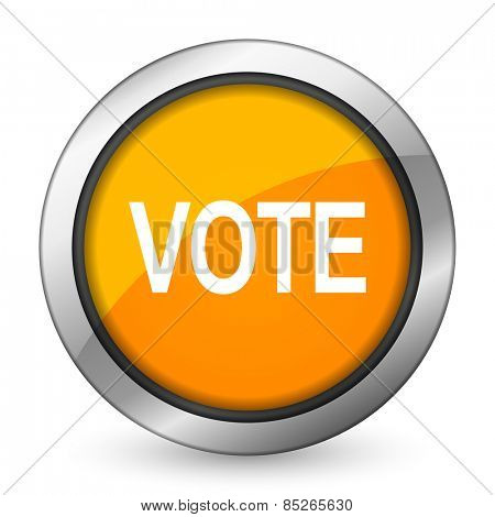 vote orange icon