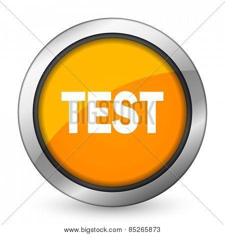 test orange icon