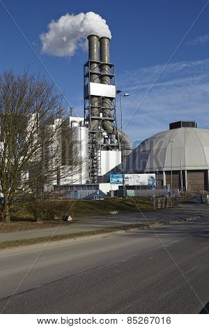 Hamburg - Coal Power Plant Moorburg