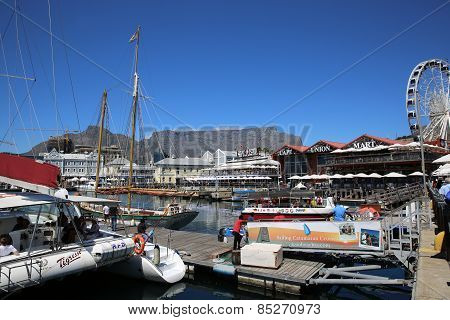 Waterfront in Cape Town