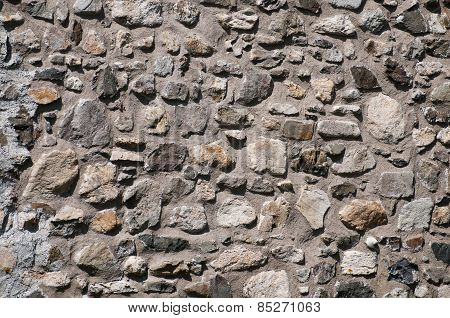 Background Stone And Mortar