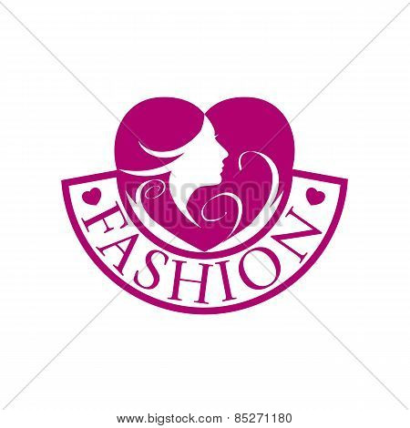 Vector Icon Heart And Face For Fashion