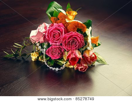 Delicate Bouquet Of Flowers