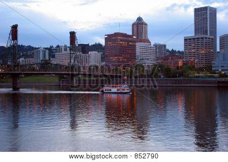 Portland Oregon Waterfront