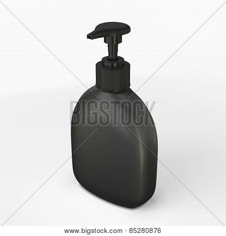 Black Bottle For Soap
