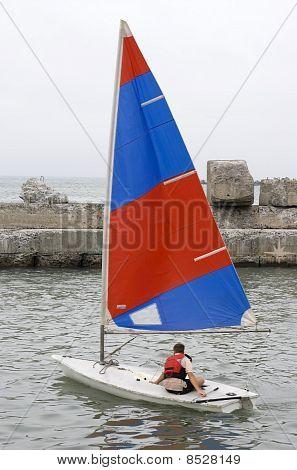 small sports yacht