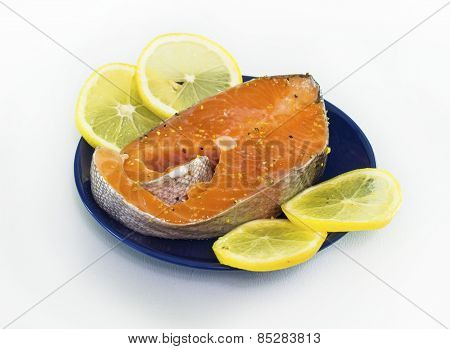 Trout With Lemons
