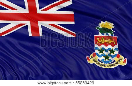 3D Cayman Islands Flag