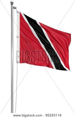 3D Trinidad and Tobago flag
