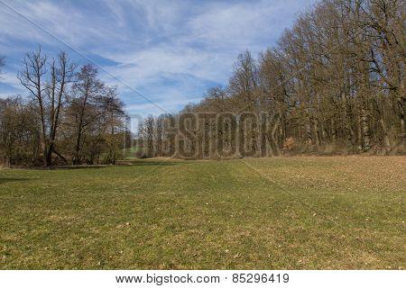 Spring Landscape In Bavaria