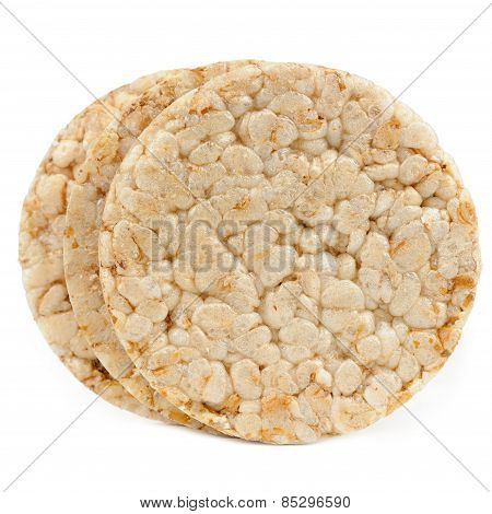 Crispbread Isolated On White Background