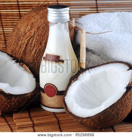 Coconut And Massage Oil