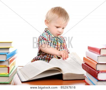 Child With The Books