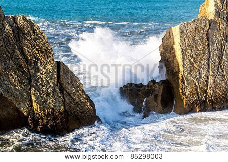 Waves At Cantabrian Coast