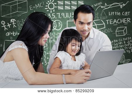 Parents Giving E-learning Education