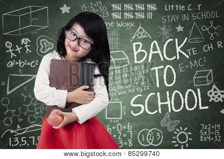 Pretty Little Schoolgirl Back To School
