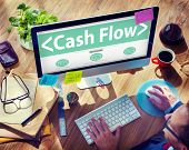 pic of cash  - Cash flow Investing Banking Money Revenue Investment Concept - JPG