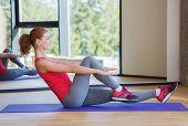 stock photo of abdominal  - fitness - JPG