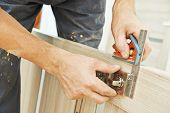 stock photo of carpenter  - Close - JPG