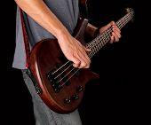 Постер, плакат: Bass guitarist