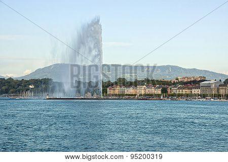 Jet D Eau In Geneva
