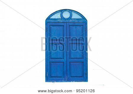 Old Door Isolated
