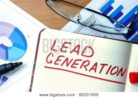 Notepad with Lead Generation.