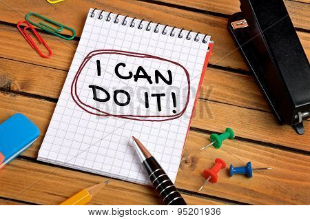 I Can Do It Word