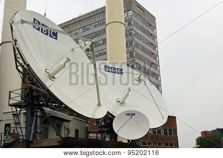 BBC Satellite Dishes, West London