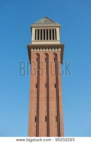 Venetian Tower In Barcelona
